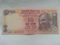 10 Rupie, GANDHI, Indie