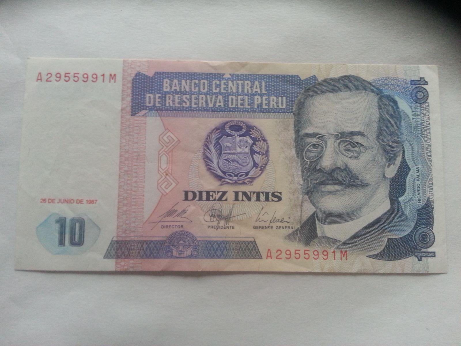 10 Soles,1987, Peru