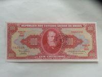 100 Cruzeiros, Pedro II., Brazilie