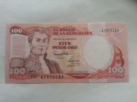 100 Pesos, 1991, Kolumbie