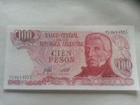 100 Pesos, SAN MARTIN, Argentina