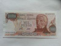 1000 Pesos, SAN MARTIN, Argentina