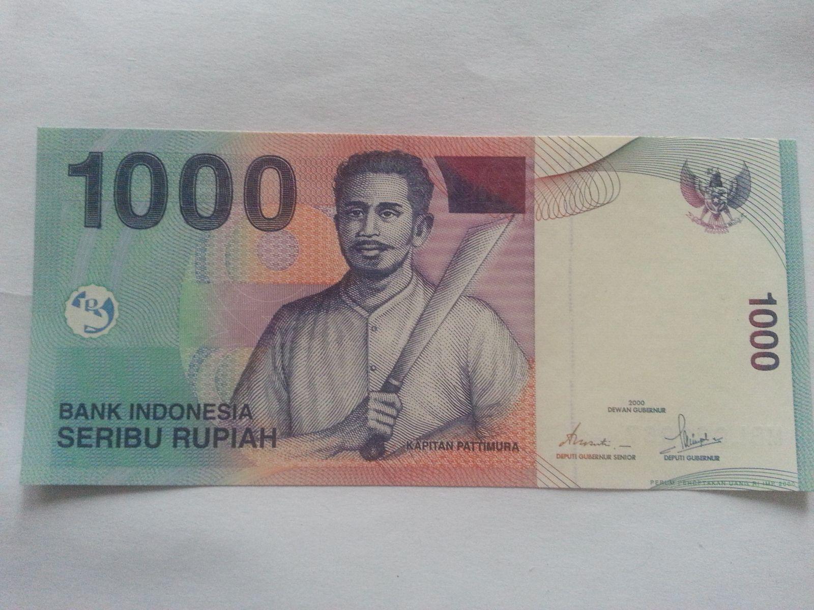 1000 Rupie, 2000, Indonésie