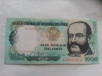 1000 Soles, 1981, Peru