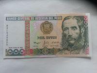 1000 Soles, 1988, Peru