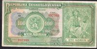 100Kč/1920/, stav 3+, série As