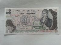 20 Pesos, 1982, Kolumbie