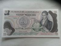 20 Pesos, 1983, Kolumbie