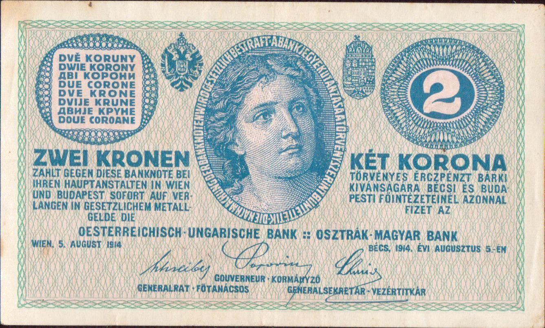 2K/1914/, stav 1-, série C 1465