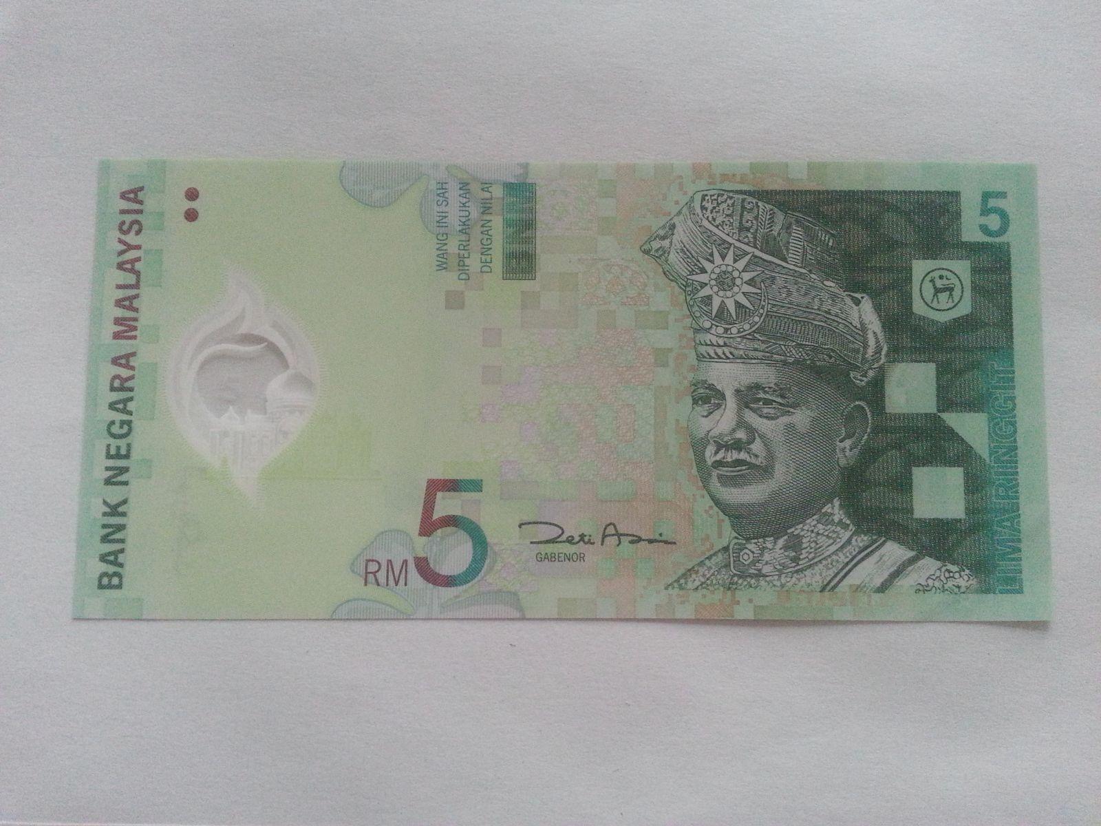 5 RM, Malajsie