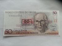50 Cruzeiros, LOUVADO, Brazilie