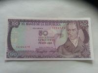 50 Pesos, 1986, Kolumbie
