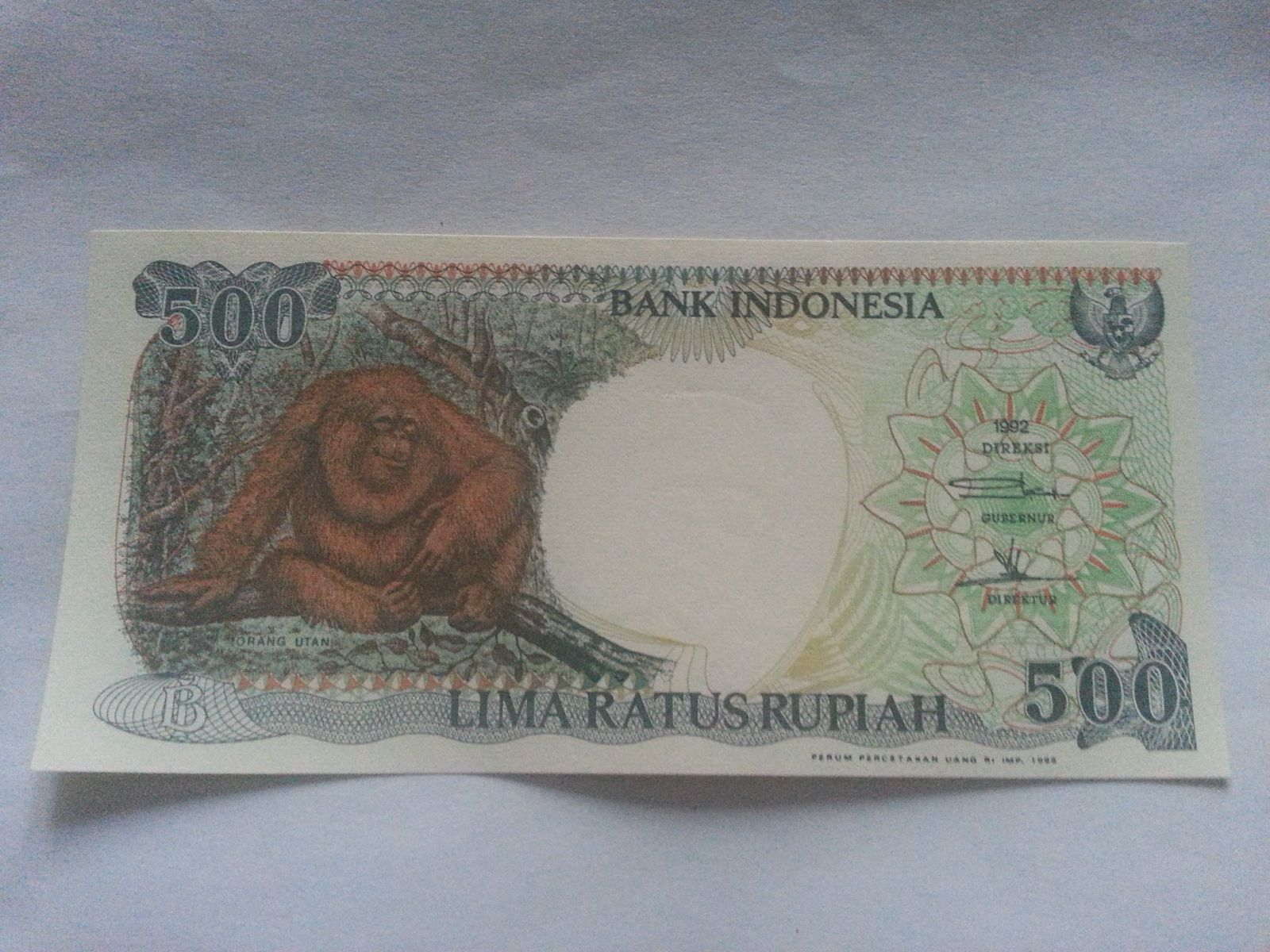 500 Rupie, 1998 Indonésie