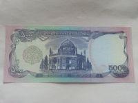 5000 Afghanis, chrám, Afghanistán