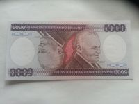 5000 Cruzeiros, radary, Brazilie