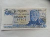 5000 Pesos, SAN MARTIN, Argentina