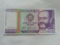 5000 Soles, 1988, Peru