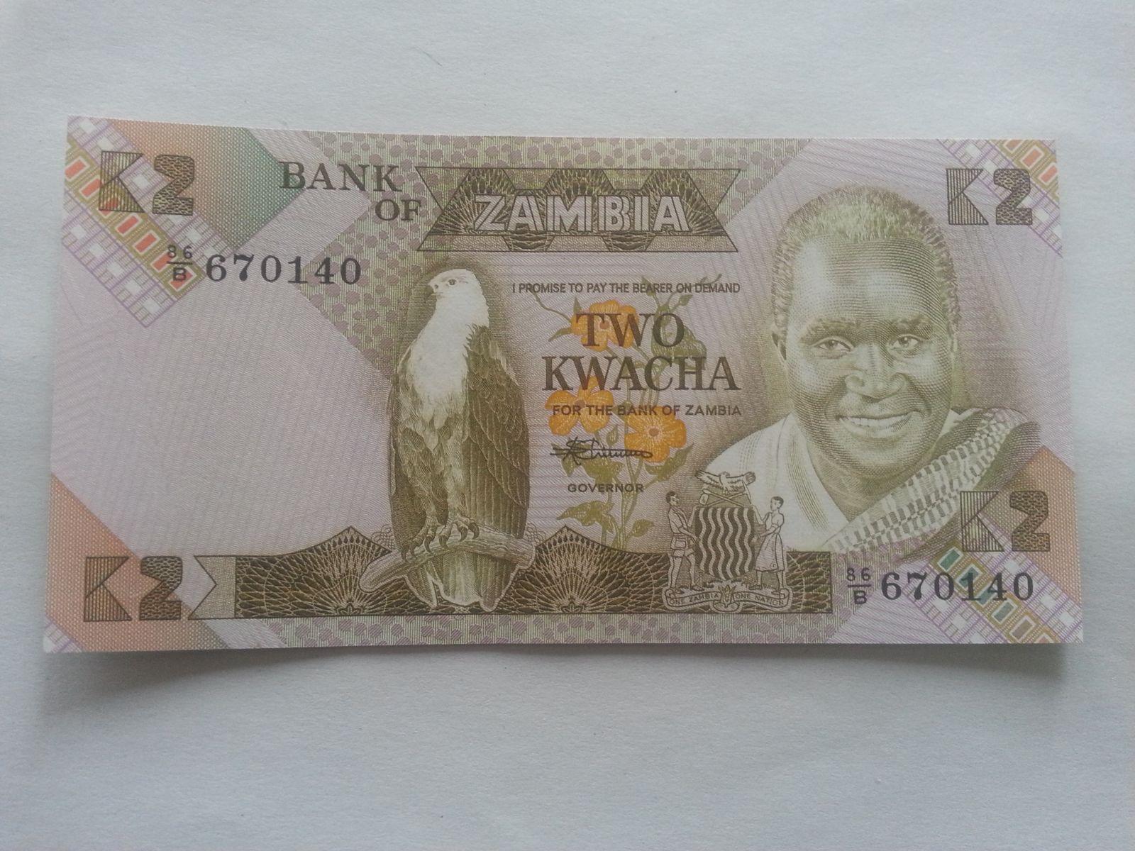10 Kwacha, prezidentský palác, Zambie