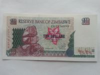 10 nových Zaires, 1993, Zaire (Kongo)