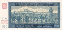 100K/1940/, stav UNC perf. NEPLATNÉ, série 18 A - I.vydání