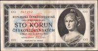 100Kčs/1945/, stav 2-, série C 07