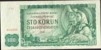 100Kčs/1961/, stav 2+, série C