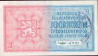 1K/1938-40/, stav 0, série A 062, ruční přetisk