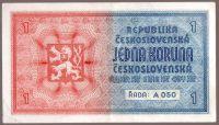 1K/1938-40/, stav 1+, série A 050, ruční přetisk