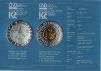 2000 Kč(2019-zavedení Československé koruny), stav 0/0, etue a certifikát