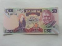 50 Kwacha orel, 2001, Zambie