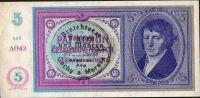 5K/1938-40/, stav 0, série A 043, ruční přetisk