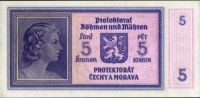 5K/1940/, stav UNC, série P 052