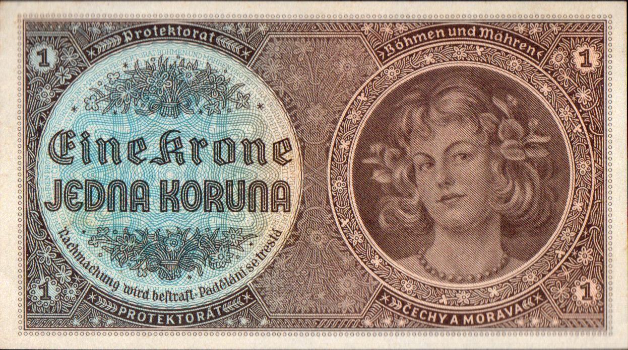 1K/1940/, stav UNC, série D 061