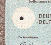 Dluhopis Deutsche Kommunal Anleihe, Berlín/1942/ 100 Reichsmark, 4%, formát A4