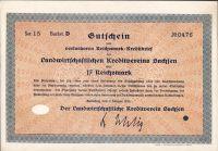 Dluhopis Landwirtschaftlichen Kreditverein Sachsen, Dresden/1930/, 17 Reichsmark