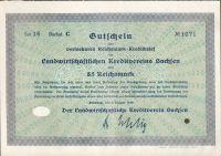 Dluhopis Landwirtschaftlichen Kreditverein Sachsen, Dresden/1930/, 5 Reichsmark