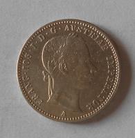 Rakousko 1/4 Zlatník/Gulden 1859 A