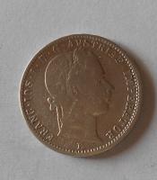 Rakousko 1/4 Zlatník/Gulden 1862 E