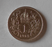 Rakousko 1 Koruna 1913 stav!