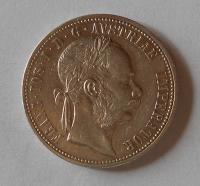 Rakousko 1 Zlatník/Gulden 1873