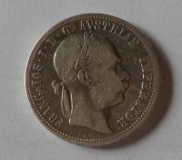 Rakousko 1 Zlatník/Gulden 1874