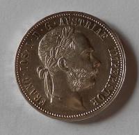 Rakousko 1 Zlatník/Gulden 1878