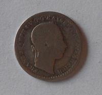 Rakousko 10 Krejcar 1860 V