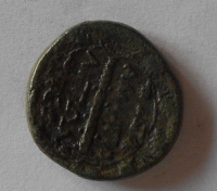 Řecko – Makedonie AE – 22 hlava POSEIDONA AMPIPHOLIS 168-149 př.n.l. s:1396var