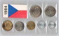 Ročníková sada oběžných mincí ČSSR (1984), stavy 0/0