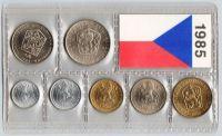 Ročníková sada oběžných mincí ČSSR (1985), stavy 0/0