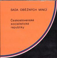Ročníková sada oběžných mincí ČSSR (1988), stavy 0/0