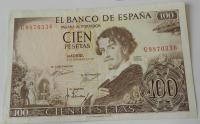 Španělsko 100 Peseta 1965