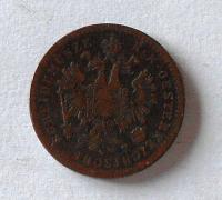 Uhry 1 Krejcar 1859 B