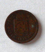 Uhry 1 Krejcar 1886 KB